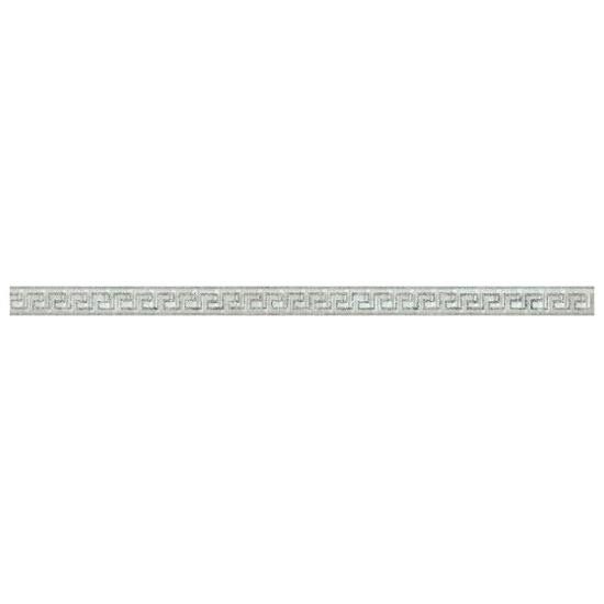 Płytka ścienna Sabro Bianco listwa szklana Meander A 3x59,5 Paradyż