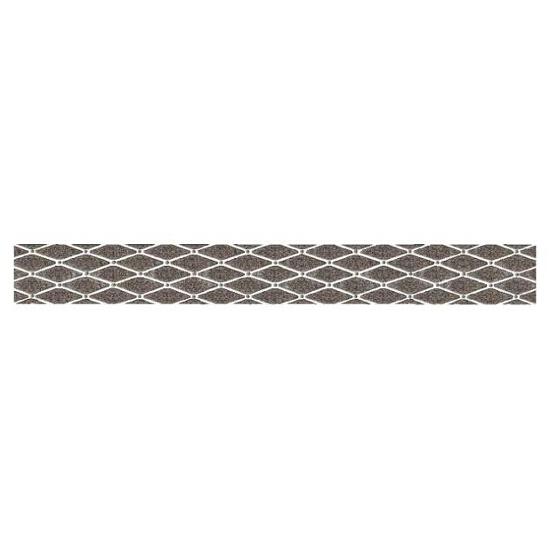 Płytka ścienna Sabro Silver listwa drukowana Poduszki 7x59,5 Paradyż