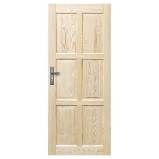 Drzwi sosnowe Czapla Plus pełne 70 prawe Radex
