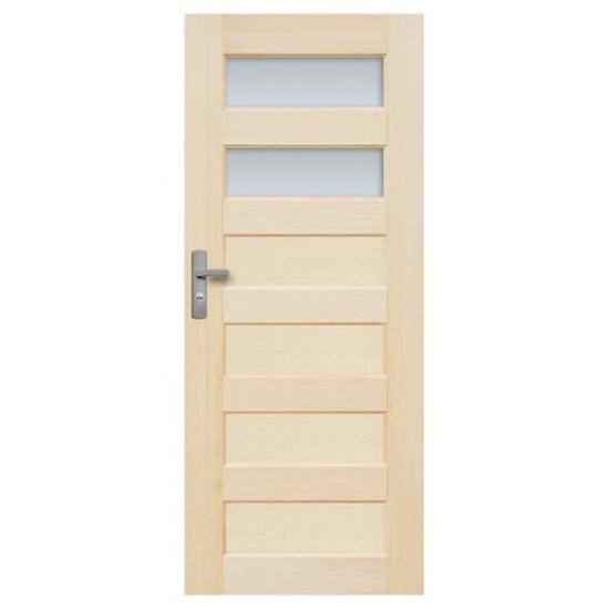 Drzwi sosnowe Manhattan przeszklone (2 szyby) 60 lewe Radex