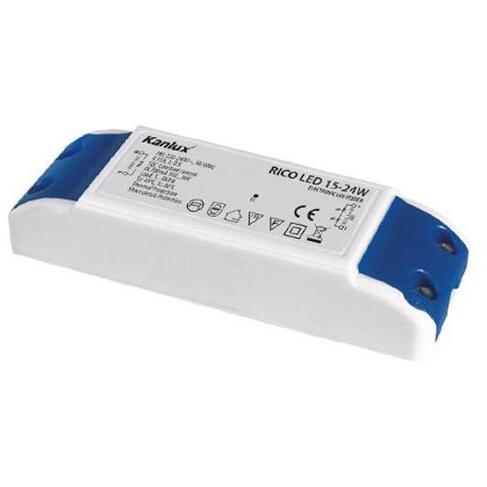 Zasilacz do taśm LED RICO LED 15-24W Kanlux