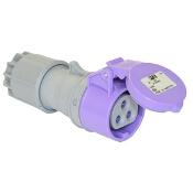Gniazdo przenośne 24V IP44 16A 24V/~50-60Hz 3P PCE