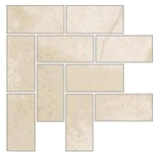 Narożnik gresowy Fiorito beż mosaic b 12,2x12,2