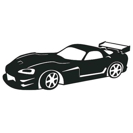 Naklejka dekoracyjna welurowa samochód 675017-7 Klimaty Domu