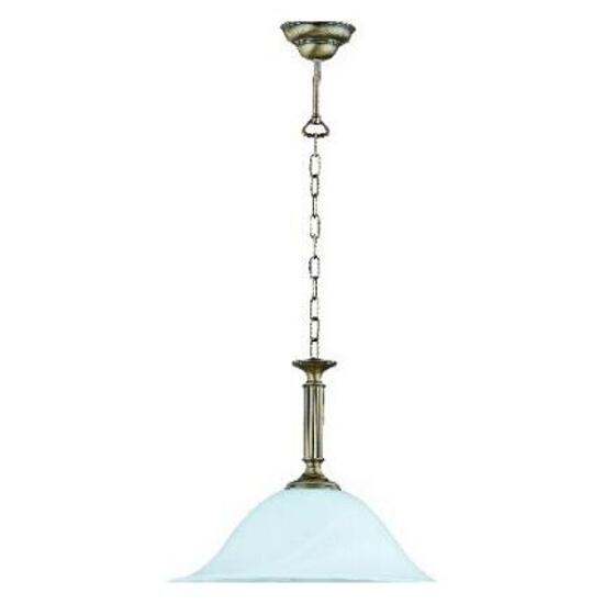 Lampa wisząca PATYNA IV 1xE27 60W 381G Aldex