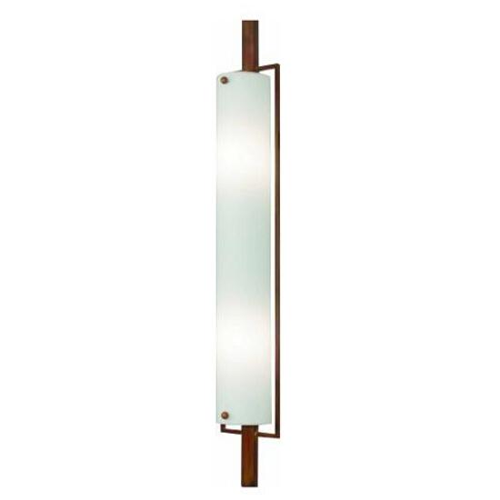 Kinkiet DREWNO 2xE14 40W 411D biały, brązowy Aldex