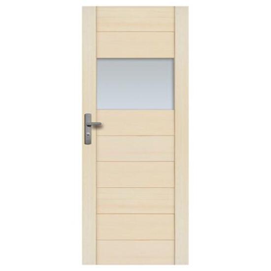 Drzwi sosnowe Praga przeszklone (1 szyba) 70 prawe Radex