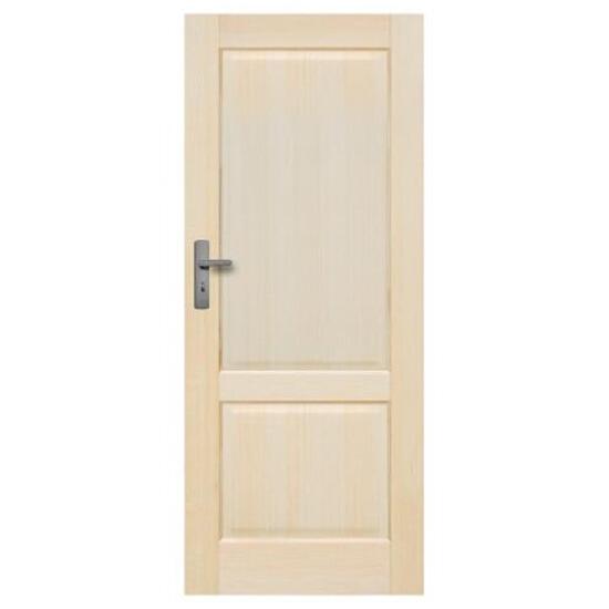 Drzwi sosnowe Turyn pełne 80 lewe Radex