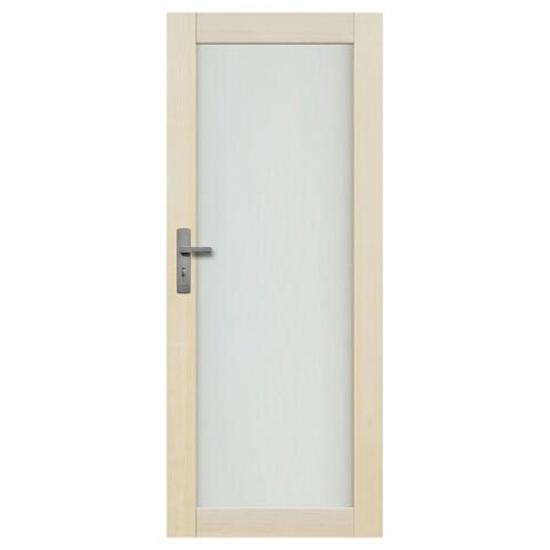 Drzwi sosnowe Lazio przeszklone (1 szyba) 80 prawe Radex
