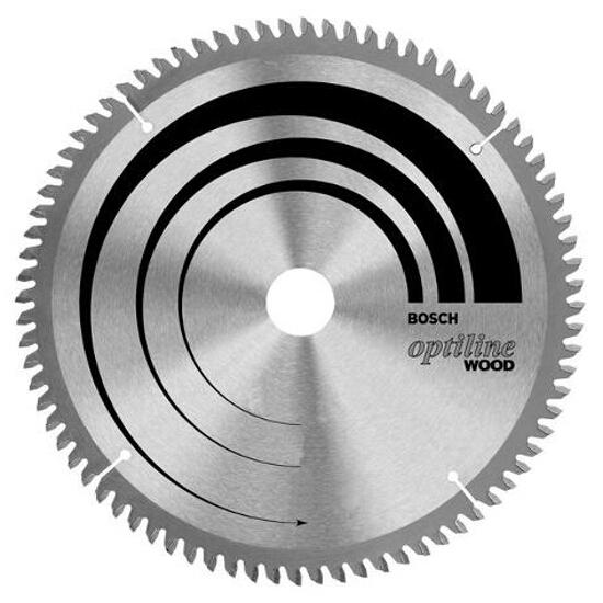 Piła tarczowa Optiline Wood WZ/N 254x30mm 80 zębów 2608640437 Bosch