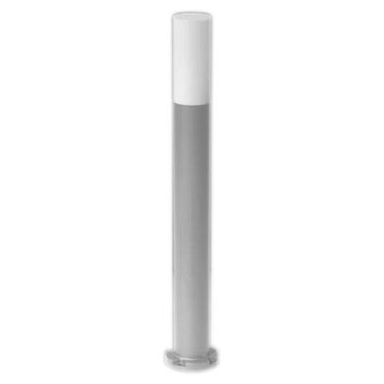 Lampa ogrodowa stojąca IRIS 600 40W E27 srebrna Sanneli Design