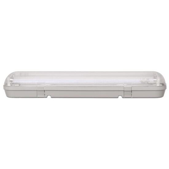 Oprawa świetlówkowa z kloszem CODAR 2x18W T8 230V PC IP65 Lena Lighting