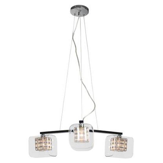 Lampa wisząca Madryt3K 3x40W G9 chrom Sanneli Design