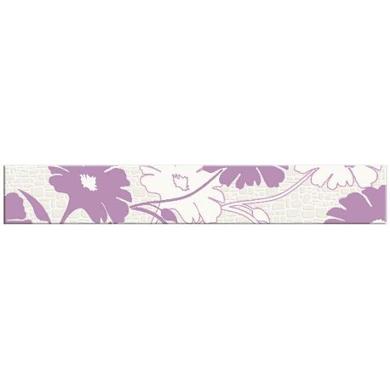 Płytka ścienna Polinesia fioletowa flower 45x7