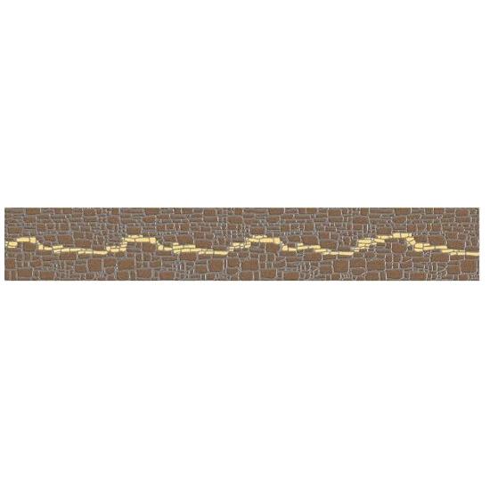 Płytka ścienna Polinesia żółta modern 45x7