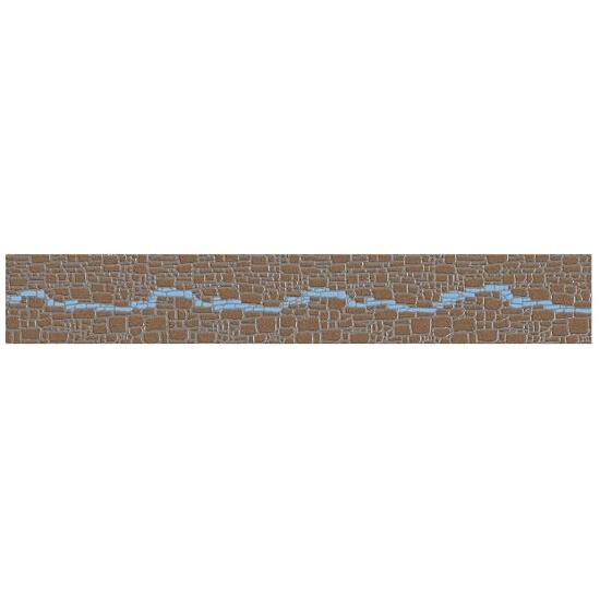 Płytka ścienna Polinesia niebieska modern 45x7