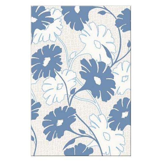 Płytka ścienna centro Polinesia niebieskie flower 30x45
