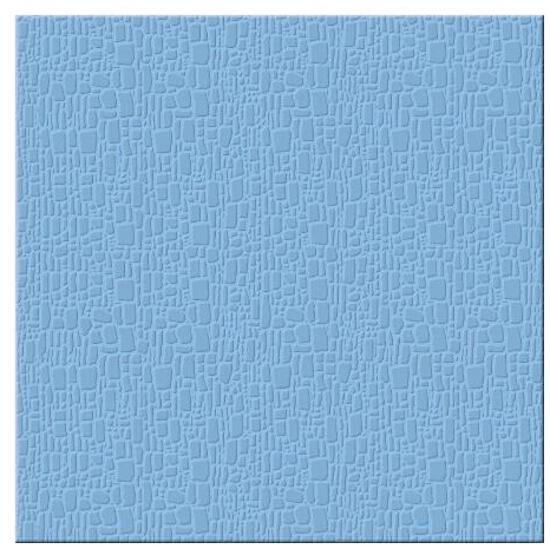 Płytka podłogowa Polinesia niebieska 35x35