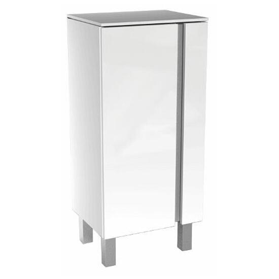 Półsłupek łazienkowy DOMINO XL niska 40x75x32,5cm biały połysk 88358000 Koło