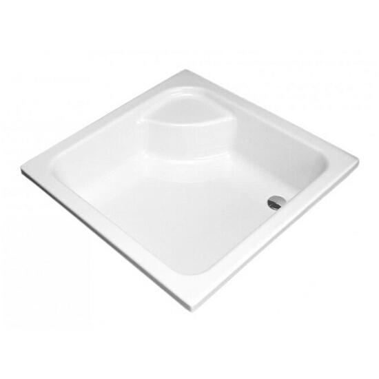 Brodzik kwadratowy GŁĘBOKI 900x900x210mm biały XBK0390000 Koło