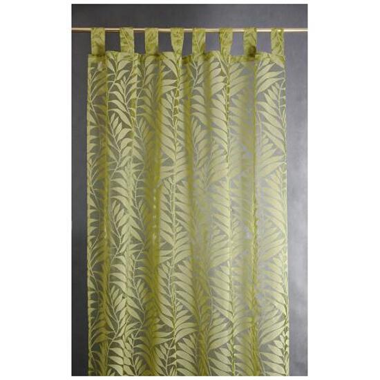 Firana Palme 140x250 zielona Domarex