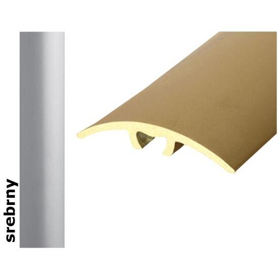 Listwa dylatacyjna Effect Standard A66 z uszczelką silikonową srebro 180cm Effector