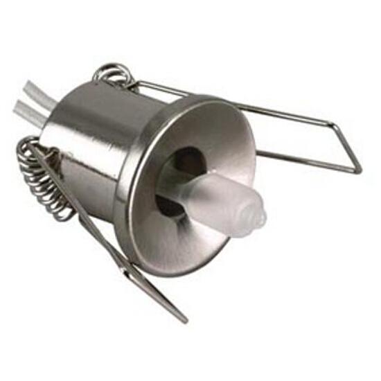 Oprawa punktowa sufitowa 20W G4 KHC 530 satynowa srebrna ANS