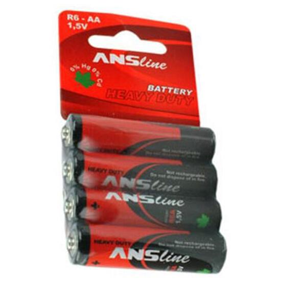 Bateria R6A HEAVY DUTY blister 4 szt. ANS
