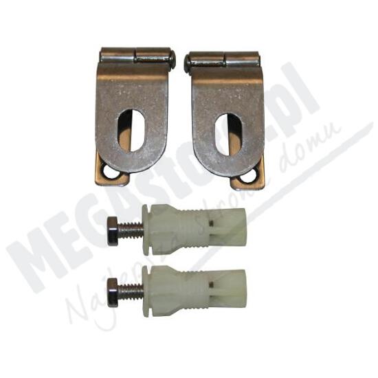 Zawiasy i uchwyty montażowe pokrywy bidetowej Giralda A802910020 Roca