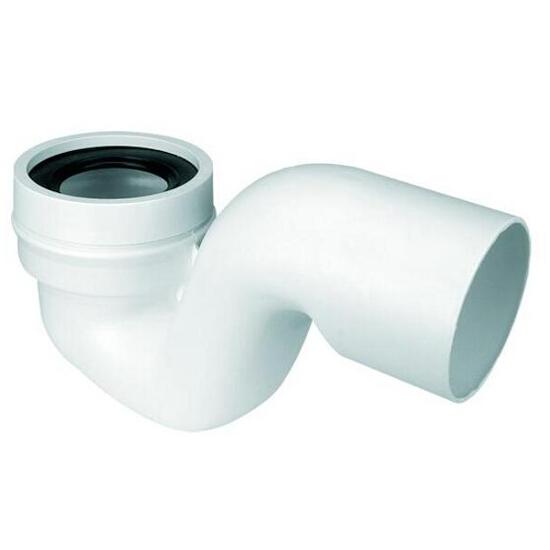 Złącze do WC z zasyfonowaniem 150mm 90-110mm/110mm tzw. Tureckie (HC46) McAlpine