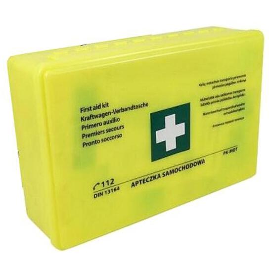 Apteczka samochodowa pierwszej pomocy DIN 13164 pudełko CarCommerce