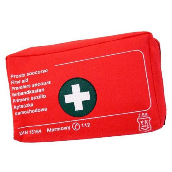 Apteczka samochodowa pierwszej pomocy DIN 13164 etui CarCommerce