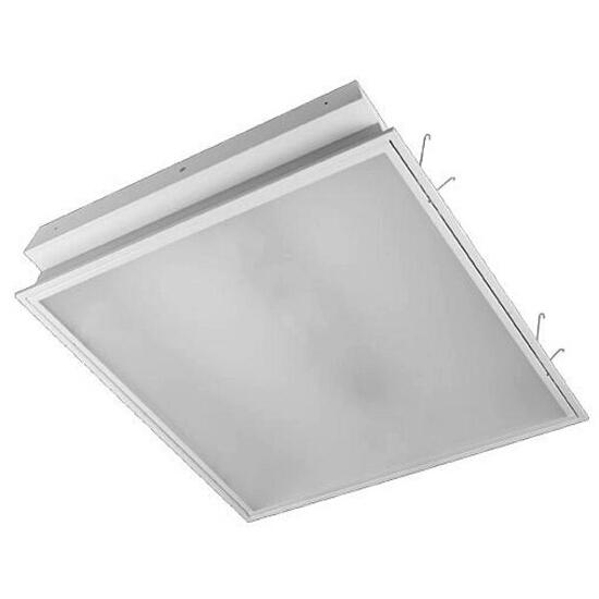 Oprawa świetlówkowa z kloszem ELECTRA plex OS-236 2x36W klosz mleczny biały Elgo