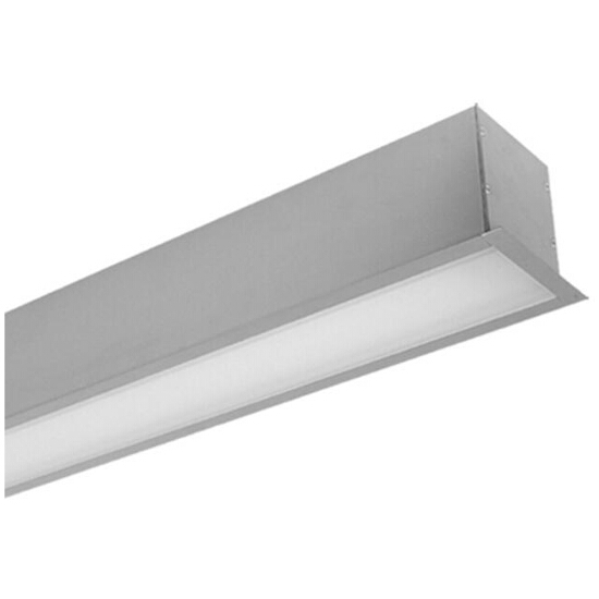 System oświetleniowy świetlówkowy PREVIA TOP 235DE do wbudowania 2x35W szary Elgo