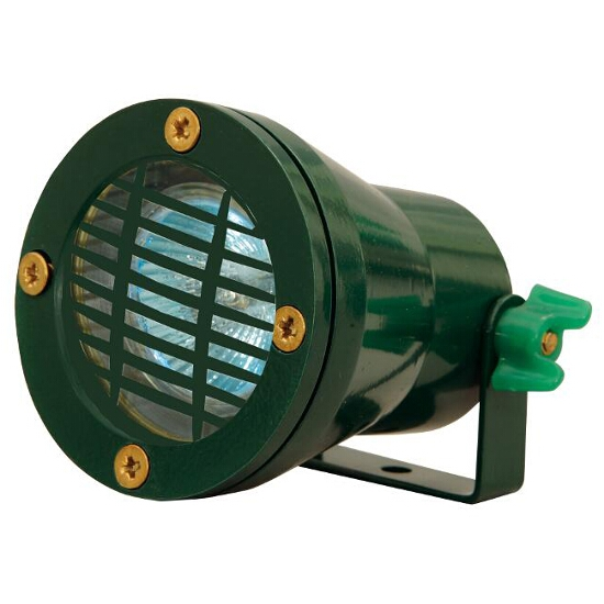 Lampa do oczek wodnych EMUR 10B max. 50W z kratką ochronną zielony Elgo
