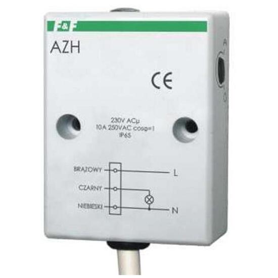 Czujnik zmierzchowy hermetyczny wyłącznik automatyczny 230V 10A AzH F&F