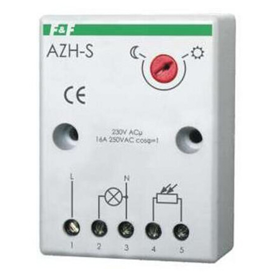 Czujnik zmierzchowy hermetyczny wyłącznik automatyczny 230V 16A AzH-S F&F