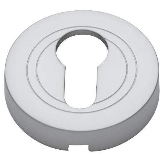 Szyld drzwiowy okrągły wkładka chrom satynowy PLT-23-Y-08-SU Gamet