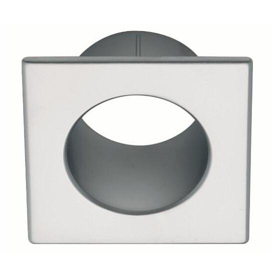 Tuleja wentylacyjna kwadrat chrom satynowy TW01-G0008-KW-SU Gamet