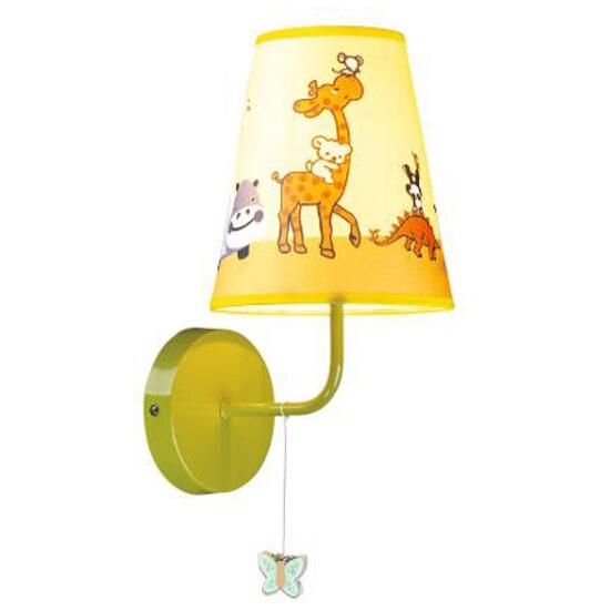 Kinkiet dziecięcy Giraf 1xE14 40W K-MB11020-1A Kaja