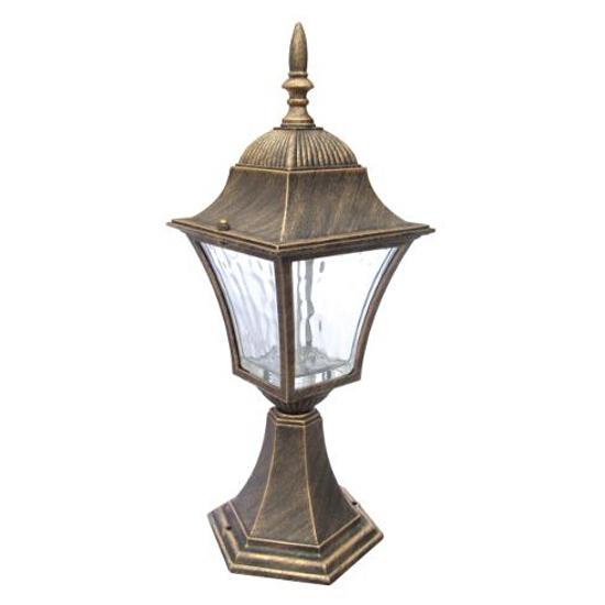Lampa ogrodowa stojąca LONDON 2xLED AL831LWWPT Polux