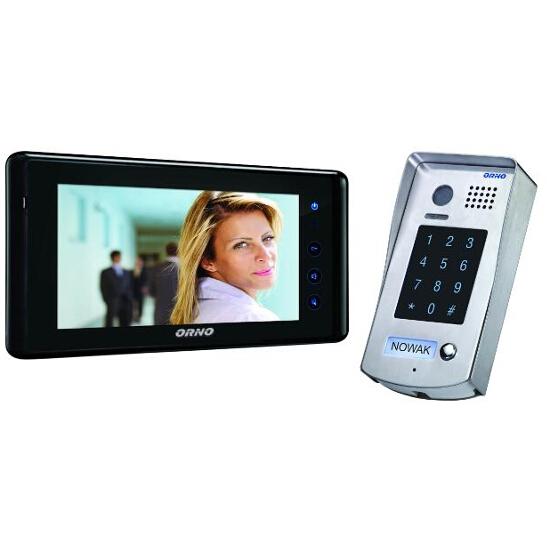 """Videodomofon kolorowy LCD 7"""" z szyfratorem i ekranem dotykowym OR-VID-VT-1014 Orno"""