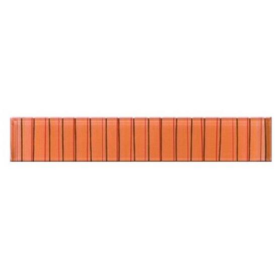 Płytka ścienna Linero orange glass 29x5