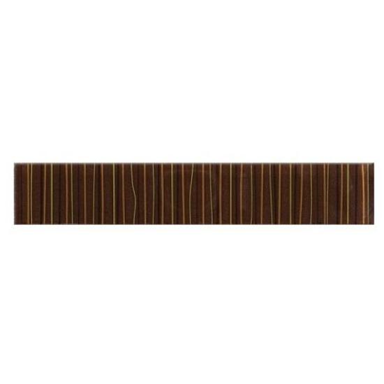 Płytka ścienna Linero brąz glass 29x5