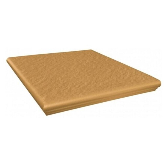 Klinkier Simple sand kapinos narożny strukturalny 3-d 33x33