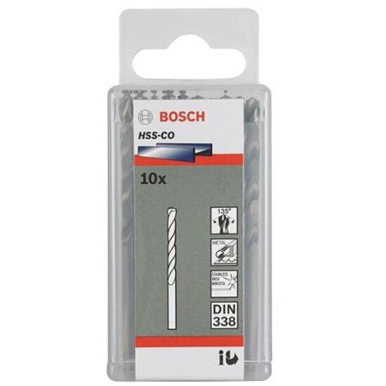 Wiertło do metalu HSS-Co Standard DIN 338 3,3x36x65mm 10szt. 2608585878 Bosch
