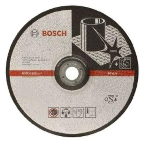 Tarcza ścierna D125x22x6mm FOR INOX, 2608602488 Bosch
