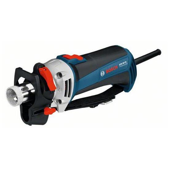 Frezarka specjalistyczna GTR 30 CE do cięcia płytek 701W + L-BOXX Bosch