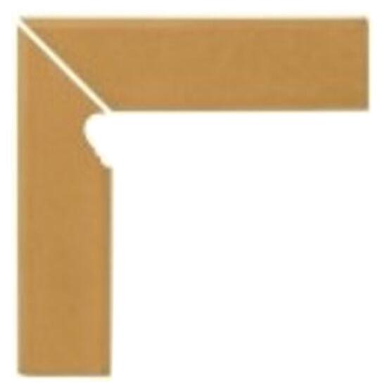Klinkier Simple sand cokół schodowy lewy 30x8