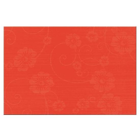 Płytka ścienna Flower 1 czerwień 30x45